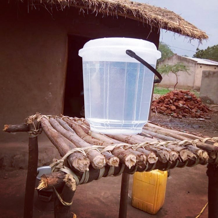 SODIS buckets in Malawi