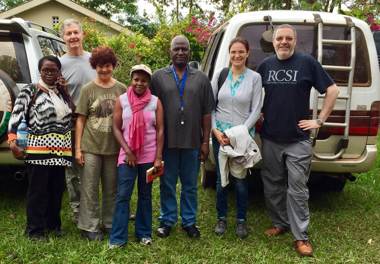 Ugandan field sites selected
