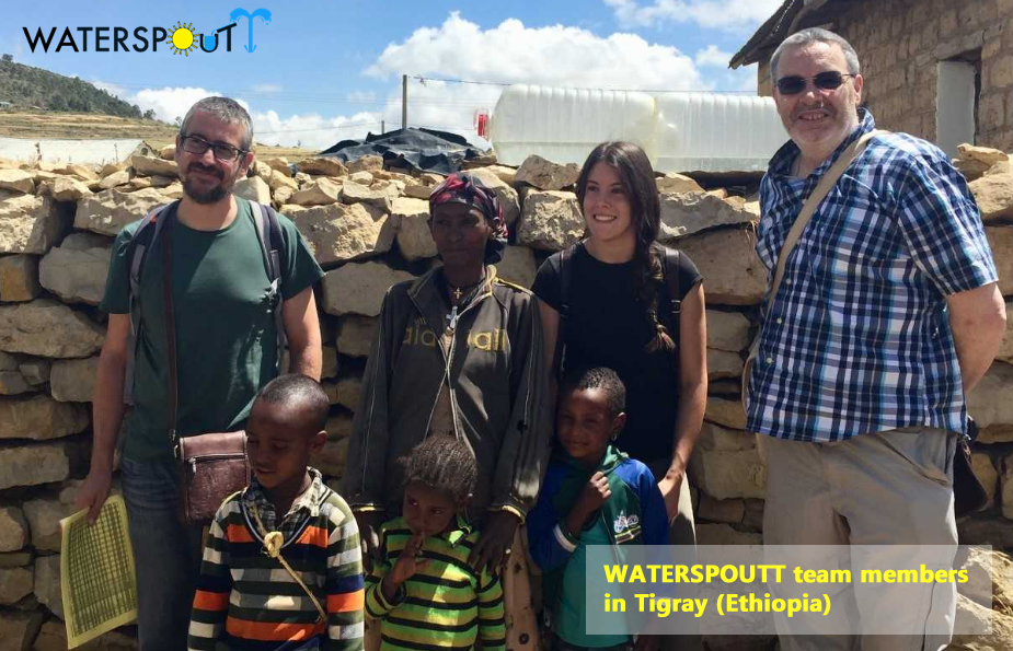 Waterspoutt field trip, Ethiopia October 2018